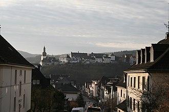 Arnsberg - Image: Blick auf Arnsberger Altstadt