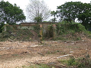RAF Warmwell - Brick Block house Warmwell 2007