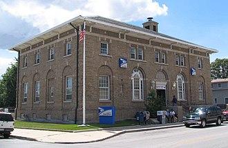 Oscar Wenderoth - Image: Blue Island Post Office