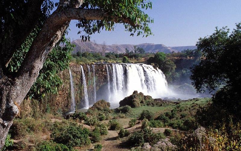 Nilo Azul, a su paso por Etiopía