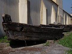 Boats to transport eels - Comacchio - Ferrara - Italy