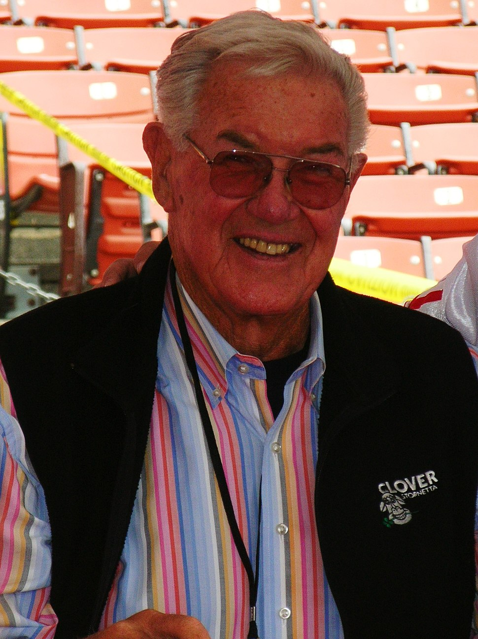 Bob St. Clair at 49ers Family Day 2009