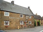 The Bakers Arms pub.