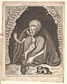 Bodleian Libraries, Margaret Finch, Queen of the Norwood gypsies, died 1740, aged 108 years.jpg