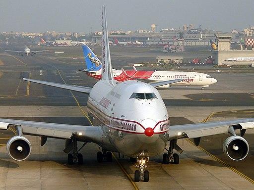 Boeing 747-437, Air-India JP6255709