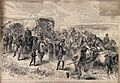 Boer War; sick and wounded soldiers returning down country. Wellcome V0015532.jpg