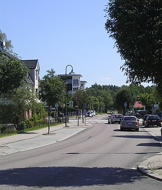 Bollebygd Municipality - Main Street Bollebygd