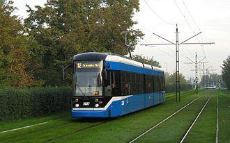 Trams in Kraków - Tram type NGT6