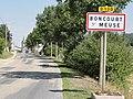 Boncourt-sur-Meuse (Meuse) city limit sign.JPG