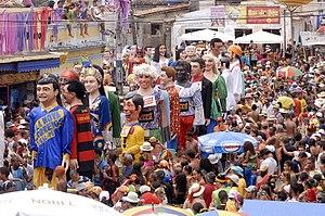 Gigantes y cabezudos - Bonecos d'Olinda, Olinda, Brazil