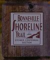 Bonneville Shoreline Trail marker.jpg