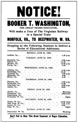 BookerTWashington1909VAVWtour