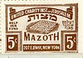 Booklet of poster stamps for the United Charity Institutions of Jerusalem Passover Matzoh Fund (8606526236).jpg