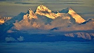Canadian Border Peak mountain in Canada