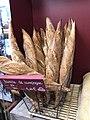 Boulangerie de Saint-Maurice-de-Beynost (Ain, France) - des baguettes de pain.JPG