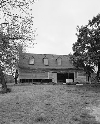 National Register of Historic Places listings in Wicomico County, Maryland - Image: Bounds Lott
