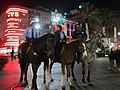 Bourbon & Canal, Mounted Police, New Orleans December 2014.jpg