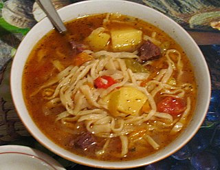 Kesme Traditional egg noodles found in various Turkic cuisines