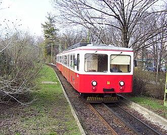 Budapesti Közlekedési Zrt. - Cogwheel railway motor car