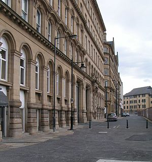 Little Germany, Bradford Area of Bradford, West Yorkshire, England