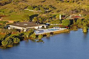 Palácio do Jaburu - Aerial view of the Vice President's residence