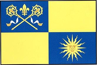 Bratřice - Image: Bratřice flag