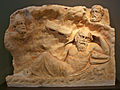 Brauron - Marble slab with the Recall of Philoctetes.jpg