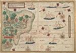 מפת ברזיל מן המאה ה-16
