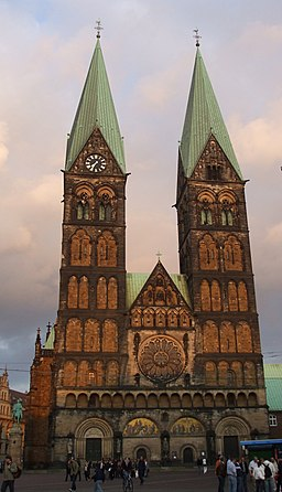Bremen Domtürme 19h35 September
