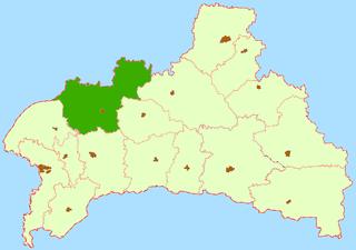 Pruzhany District District in Brest, Belarus