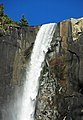 Bridalveil Falls (Yosemite Valley, Sierra Nevada Mountains, California, USA) 6 (20028819272).jpg
