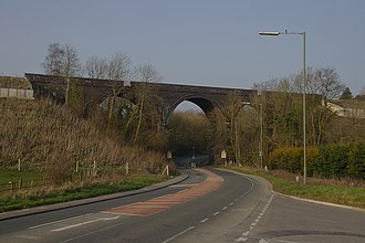 Coalpit Heath - Image: Bristol MMB «A6 Coalpit Heath Viaduct
