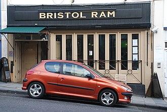 Murder of Joanna Yeates - Image: Bristol Ram on Park Street
