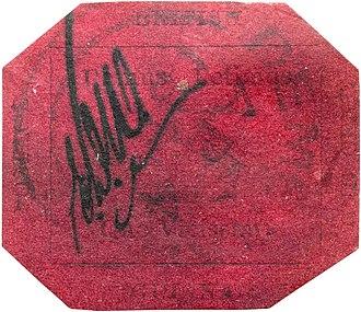 Philipp von Ferrary - Image: British Guiana 1856 1c magenta stamp
