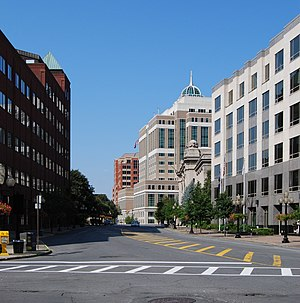 Streets of Albany, New York - Broadway