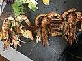 Brochette de la mer au restaurant Le Saladier à Villefranche-sur-Saône.JPG