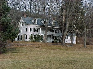 National Register of Historic Places listings in Pike County, Pennsylvania - Image: Brodhead Farm Wheat Plains House NPS
