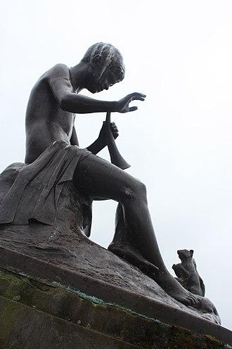 Thomas J Clapperton - Bronze by Thomas J Clapperton, Glasgow Green