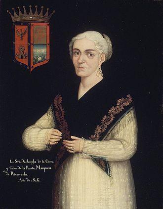 Shawl - Brooklyn Museum - Doña Josefa de la Cotera y Calvo de la Puerta - Mexican overall