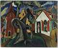 Brooklyn Museum - Village Scene - Maurice Sterne - overall.jpg