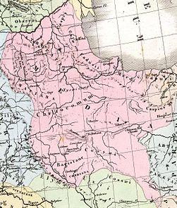 Brue, A H; Levasseur, E 1875 Asie Mineure, Armenie, Syrie, Mesopotamie (S).jpg