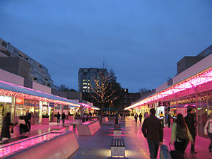 Brunswick Centre - Shopping arcade of The Brunswick on 4 December 2006
