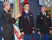 Bryan Jackson receives Distinguished Service Cross