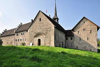 Ritterhaus Bubikon - Ritterhaus as seen from the northeast