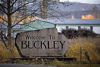 Buckley, Washington - Buckley Welcome Sign