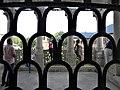 Bucuresti, Romania. PALATUL BRANCOVENESC de la MOGOSOAIA. Vedere printre gratii. (7) (IF-II-a-A-15298).jpg