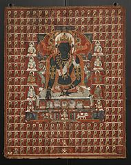 Buddha Akshobhya and the Eastern Assembly of the Sarvadurgatiparishodhana Mandala