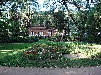Buenos Aires Botanical Garden - Entrance to the gardens
