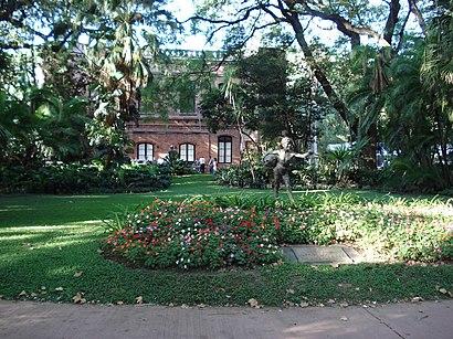 Cómo llegar a Jardín Botánico  Carlos Thays en transporte público - Sobre el lugar