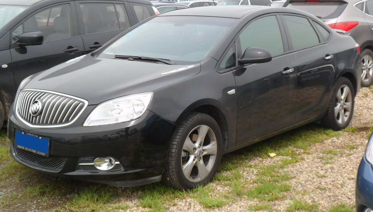Luxury Car Brands >> Buick Excelle - Wikipedia